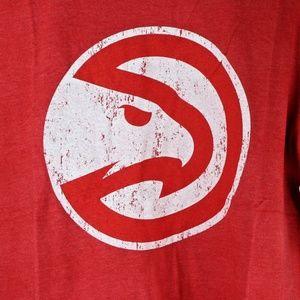 Shirts - Atlanta Hawks Logo Tri-blend Crewneck T-Shirt